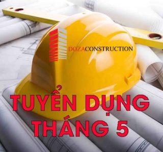 doza tuyển dụng kĩ sư xây dựng
