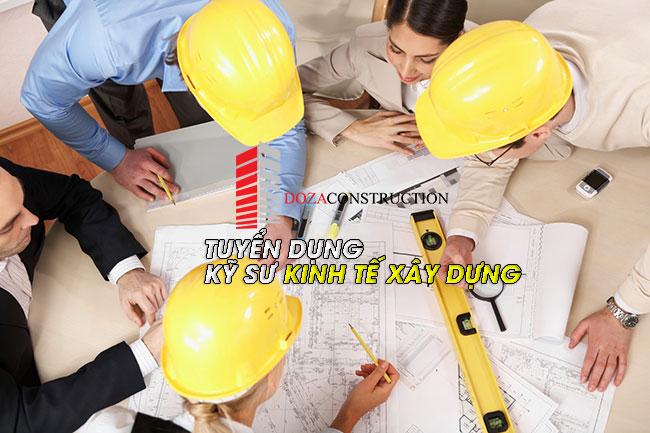 tuyển dụng kỹ sư kinh tế xâu dựng làm việc tại hà nội